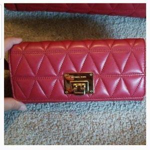Michael Kors Maroon Wallet